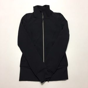 lululemon *Black Jacket *Pretty New, size 2